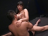 Nice Asian Sankihon NozomiIku enjoys a wild kinky session picture 12