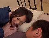 Busty Asian babe Hoshino Hibiki loves being fucked picture 3