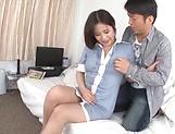 Kiriyama Anna gets her vagina screwed good