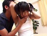 Sexy Asian teen banged to her delight