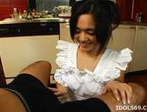 Sora Aoi Hot Asian babe Does More Than Eat In The Kitchen picture 13