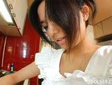 Sora Aoi Hot Asian babe Does More Than Eat In The Kitchen