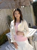Takako Kitahara Lovely Asian Model Shows Her Nice Big Tits