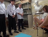 Hardcore threesome fun for lovely beauty Kirishima Rino picture 15