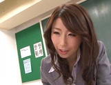 Top Japan teachers enjoys student's dick in her vagina picture 13