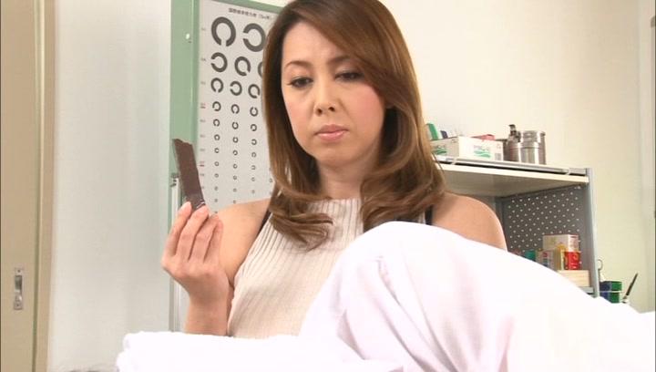 Crazy Japanese mature teacher Yumi Kazama gets her big tits fucked