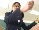 Wild Asian teacher shows how to suck dick picture 11