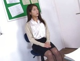 Naughty Japanese teacher Hikari Nishino  is fucked properly picture 12