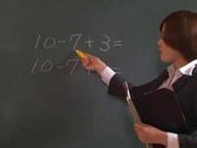 Hot milf enjoys school sex with a needy student