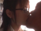 Sexy teacher Akiho Yoshizawa spreads legs for a tasty dick in her twat picture 15