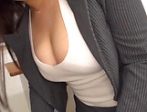 Busty teacher Makise Ai knows handle cocks