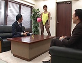 Amazing Japanese teacher, Hatano Yui, fucked in the office