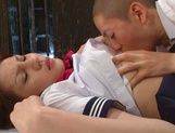 Busty Ameri Ichinose enjoys cock until exhaustion picture 13