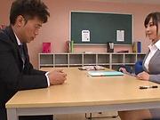 Ogawa Momoka enjoys a throbbing rear fuck
