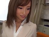 Astonishing teacher Kirishima Rino has wet muff pounded picture 14