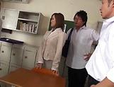 Astonishing teacher Kirishima Rino has wet muff pounded