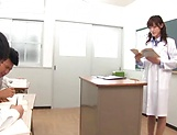 Sexy teacher Iioka Kanako get rammed hard picture 2