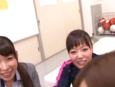Gorgeous Asian teachers enjoy this large penis