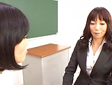 Sexy Asian teacher gets fucked by her student picture 10