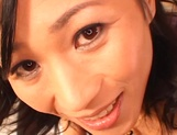 Sexy Japanese mature lady gets her tits and pussy banged on pov picture 14