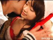 Yaya Kouzuki Gets her Pussy Licked And Enjoys It All