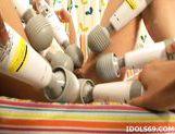 Yoshine Kimura Huge Toying Asian babe Likes Huge Vibrators For Fun