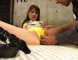 Yu Aizawa Naughty Asian Model ENjoys Riding On Cocks picture 13