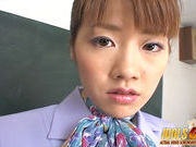 Yu Aizawa She Tongues Cock Asian babe Is A Cum Addicted Cocksuckerhorny asian, japanese sex}