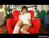 Yua Aida Asian Tramp Shows Off Her FIne Well Shaped Ass picture 12