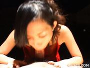 Yui Komine Blowjob Eating Cum Asian babe Is A Cum Eating Sensation