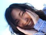Yui Komine Outdoor Toying Japanese babe Uses Her Toy In The Park