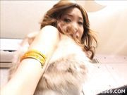 Yui Natsuki Fingering Pussy And Enjoying It Thoroughly