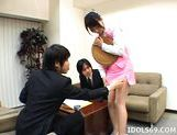 Yuuka Oosawa Office Girl Fingering And Fucking Her Pussy picture 12