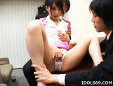 Yuuka Oosawa Office Girl Fingering And Fucking Her Pussy picture 13