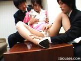 Yuuka Oosawa Office Girl Fingering And Fucking Her Pussy