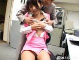 Yuuka Oosawa Office Girl Eat Cum And Shows A Cumshot