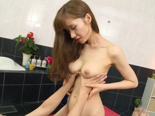 Skinny Asian milf Yuna Hayashi gets pleasure of oral job and riding