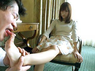 Fetish hottie Nozomi Anzaki craves warm load