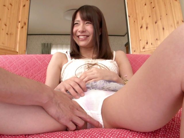 Hot Asian babe Suzuki Kokoba enjoys a kinky masturbation action