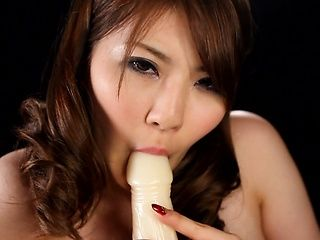 Voluptuous Asian beauty Momoka Nishina shows off nasty on cam