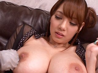 Shion Utsunomiya pretty Asian milf in pov show with boyfriend