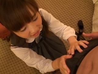 Sugary Asian schoolgirl Koko Seko has steaming sex gets cum in mouth