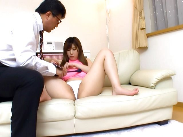 Orihara Honoka  gives a long sensual tit fuck