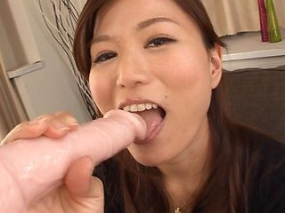 Nakamura Nana Asian milf sucks cock until the last drop