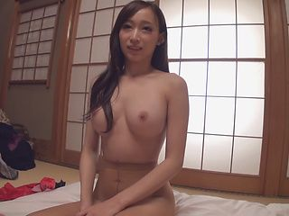 Big tits goddess blows cock in sensual POV style