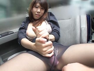 Smoking hot video of busty office babe masturbating