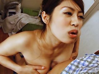 Seductive Kaori  Otanashi gives a magical titty job