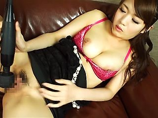 Sexy Asian doll Eri Hosaka pleases craving cunt