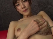 Beautiful amateur milf Iioka Kanako gets her pussy stretched and fingered