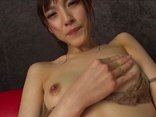 Beautiful amateur milf Kanako Iioka gets her pussy stretched and fingered